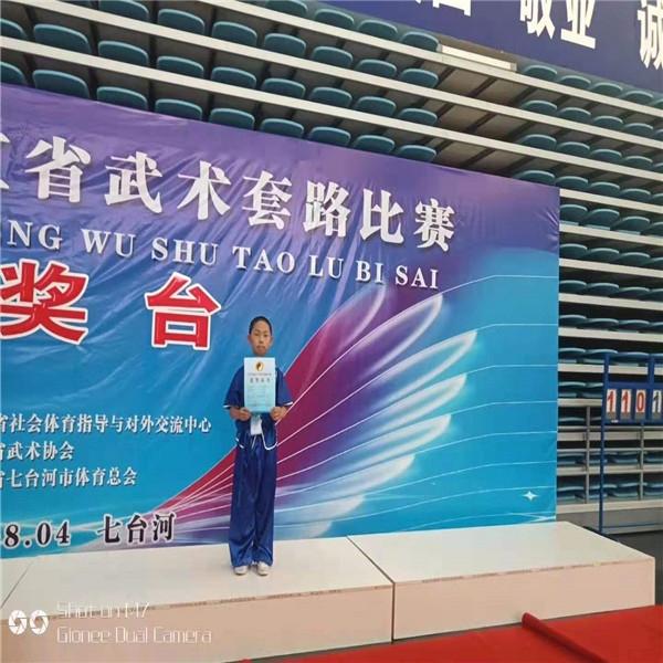 2019黑龙江武术套路比赛